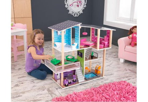 NEW! Modern Living Dollhouse - FREE SHIPPING, KidKraft, Toys, Dollhouse