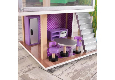 NEW! Modern Living Dollhouse - FREE SHIPPING