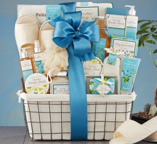 VANILLA BLISS SPA EXPERIENCE BASKET - FREE SHIPPING!