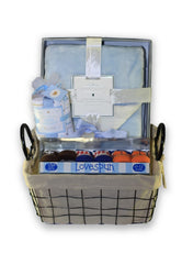 NEW! Personalized Baby Boy Gift Basket