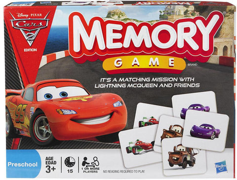 Cars 2 Memory Game, Indigo (cyber Monday), Toys, Board Games