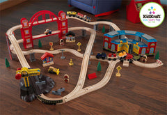 Kidkraft My Roadhouse Express Train Set, KidKraft, Toys, Train Sets