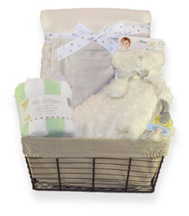 NEW! Personalized Baby Gift Basket