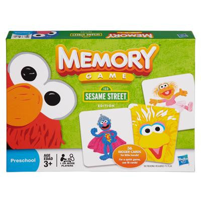 Memory Sesame Street Edition Board Game, Indigo (cyber Monday), Toys, Board Games