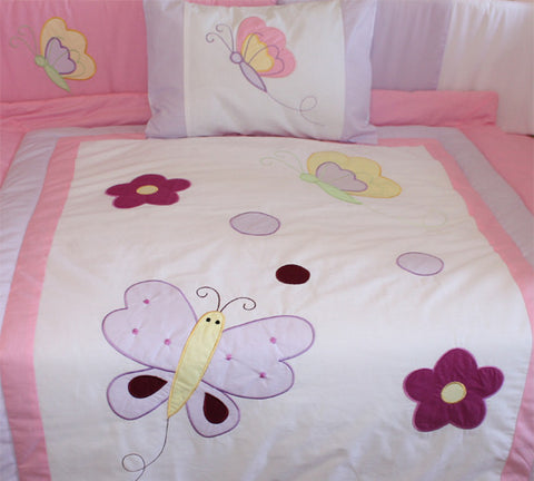 Butterfly Dreams Crib Bedding Set & Nursery Decor, BeddingHut, Bedding, Crib Bedding
