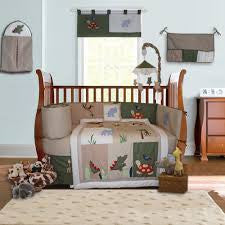 Safari Crib Bedding 10 Piece Set, BeddingHut, Bedding, Crib Bedding