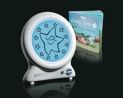 Gro-Clock: Sleep Trainer Clock with Night Light for Children Kids Baby & Toddler