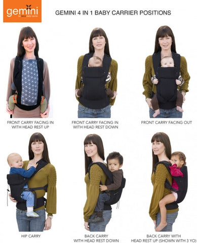 Beco Gemini Baby Carrier, Oyaco, Baby Carrier, Beco Gemini, New