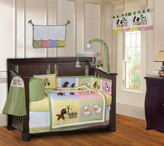 Barnyard 10 Piece Crib Bedding Set - FREE SHIPPING!