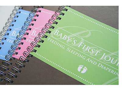 Baby's First Journal, PetitePosh, Baby Gifts, Boys and Girls