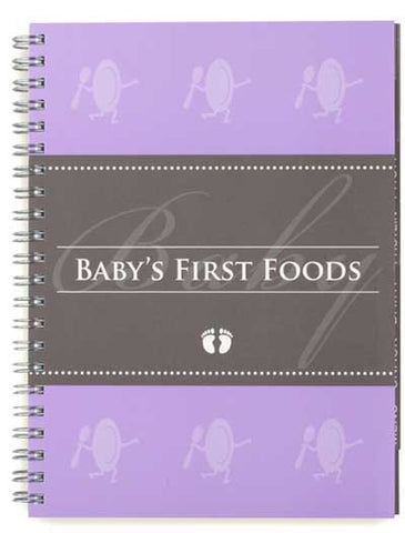 Baby Feeding Journal for Baby's First Foods, PetitePosh, Baby Gifts, Boys and Girls