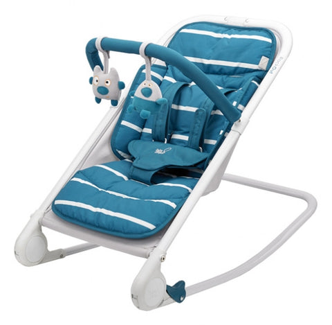 RockOUT Baby Rocker by Bababing! - Teal, Oyaco, Baby Chair, New, Rocker