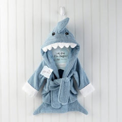 Terry Shark Hooded Baby Robe, Baby Aspen, Baby Gifts, Boys and Girls, Outfit
