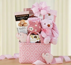 OH BABY - PINK BASKET