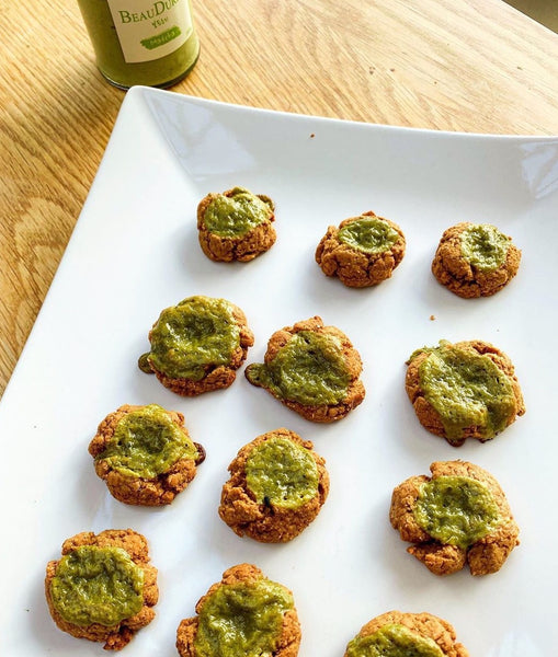 Healthy Vegetarian Matcha Cookie🍪