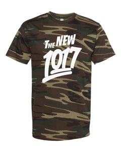 "White ""The New 1017"" Camo T-Shirt"
