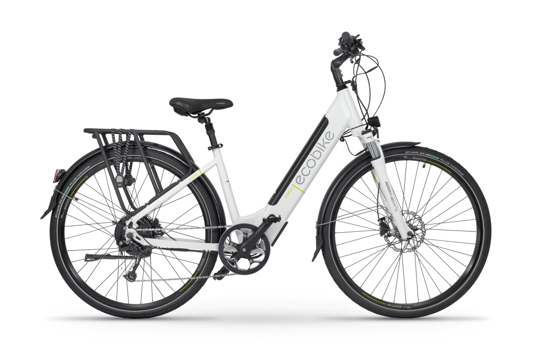 EcoBike X-Cross L White (Small)