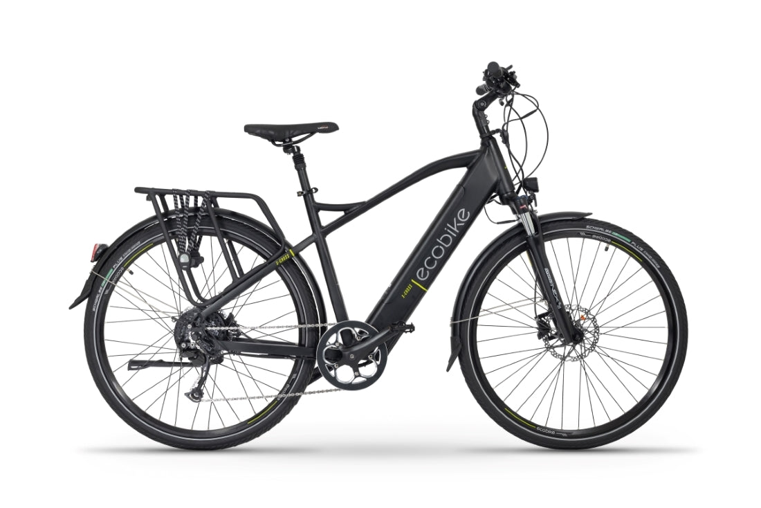 EcoBike X-Cross M Black (Large)