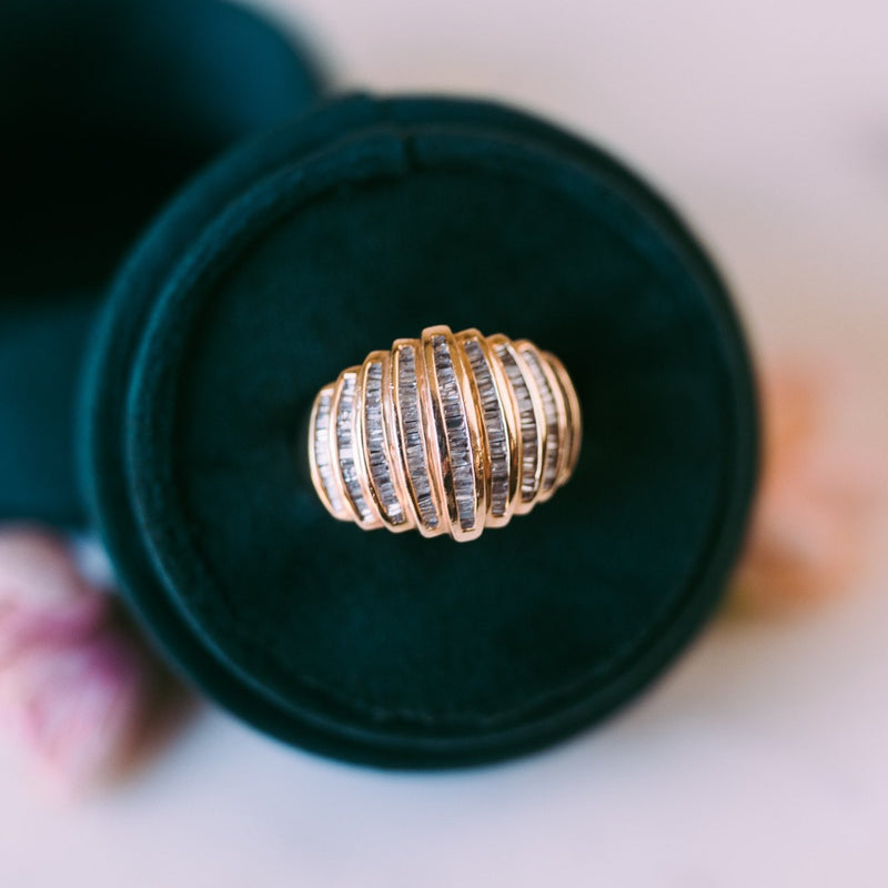 Phoebe Gold + Diamond Cocktail Ring