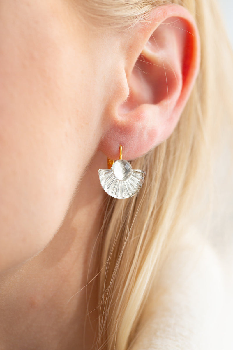 Glass Gatsby Earrings