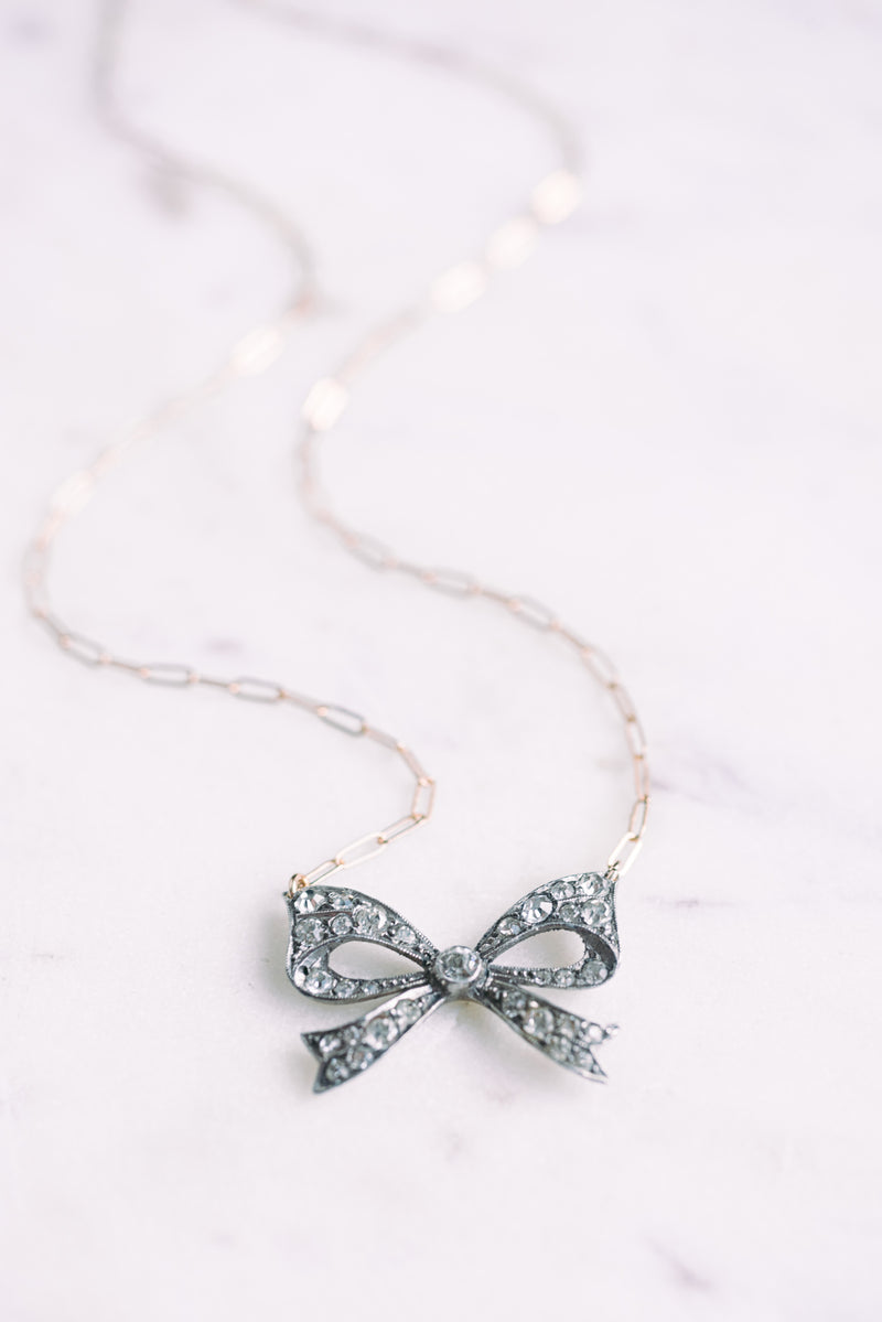 Delanie Bow Necklace
