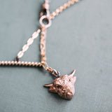 Taurus Toggle Necklace