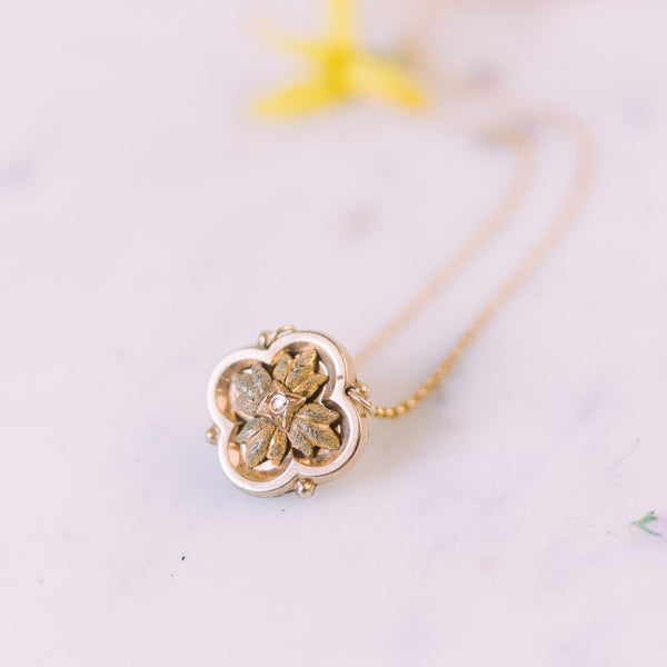 Isabella Clover Necklace