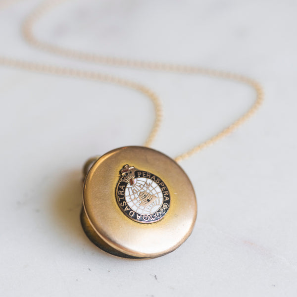 Maccabee Fraternal Locket Necklace