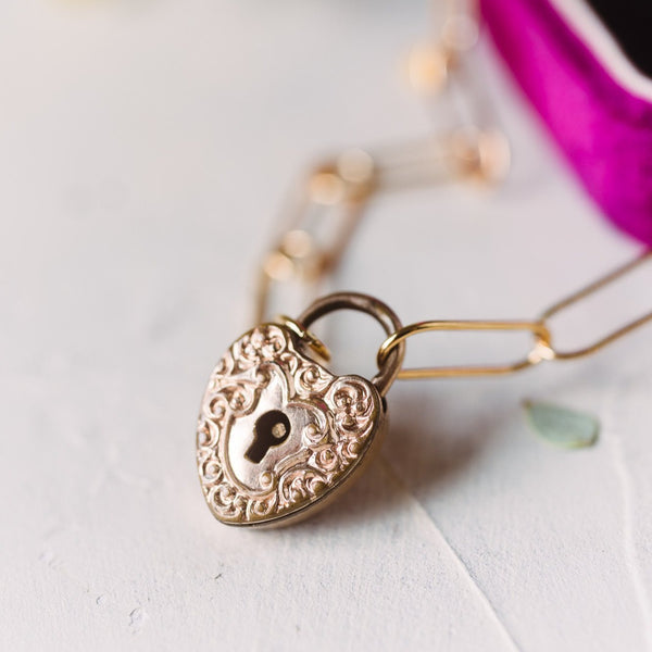 Sweetheart Lock Necklace