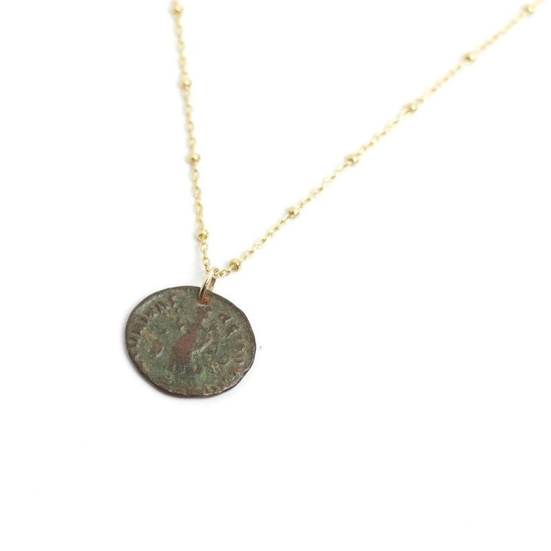Roman Constantine Coin Necklace