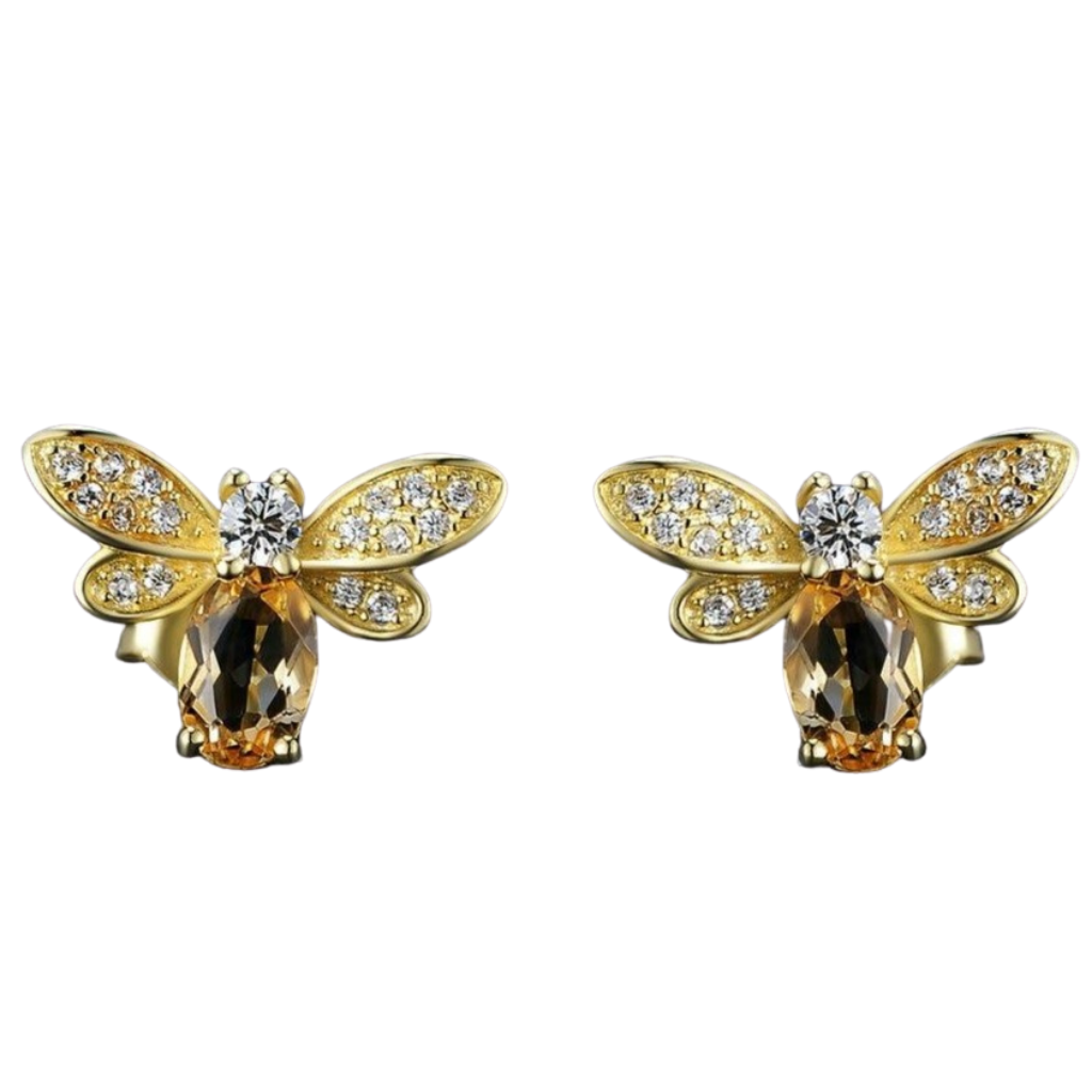 BUZZY BEE EARRINGS