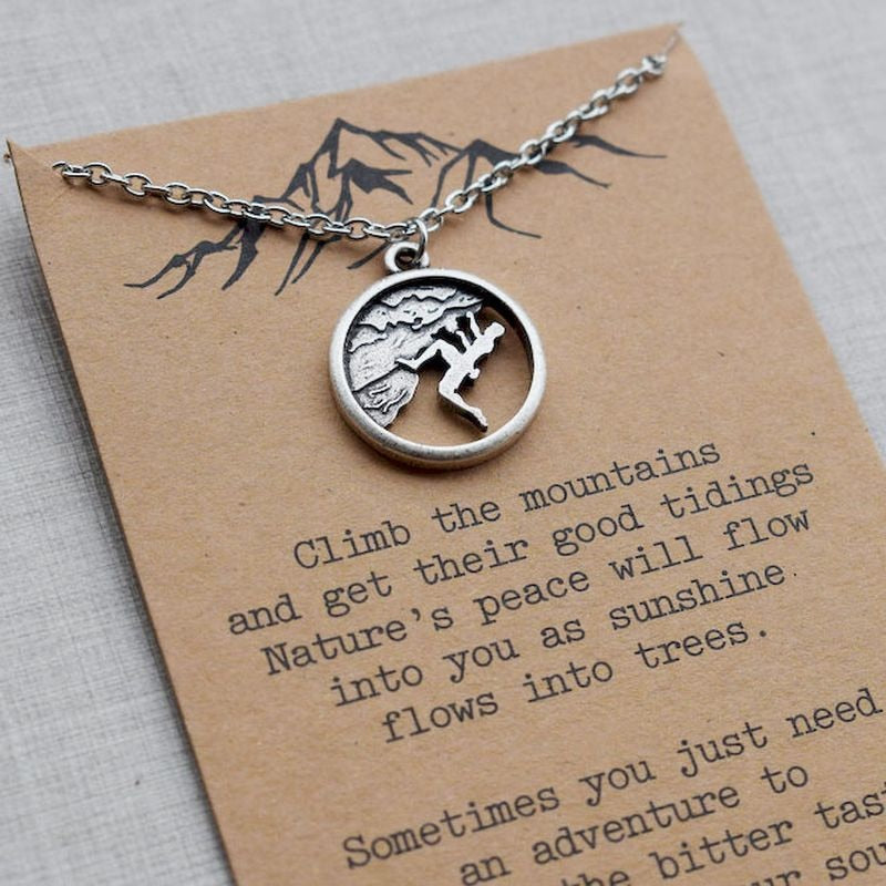 CLIMBING VIBES NECKLACE