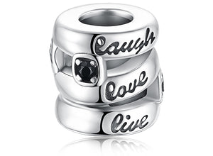 LAUGH LIVE LOVE CHARM