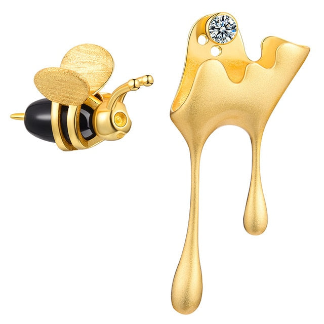 HONEY AND BEE EARRINGS