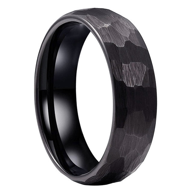 BLACK HONEYCOMB RING