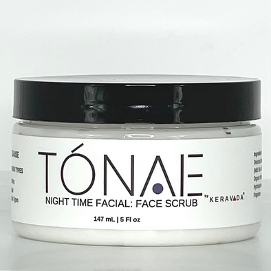 Facial Scrub: Exfoliating + Even Skin Tone + Complexion 4 oz