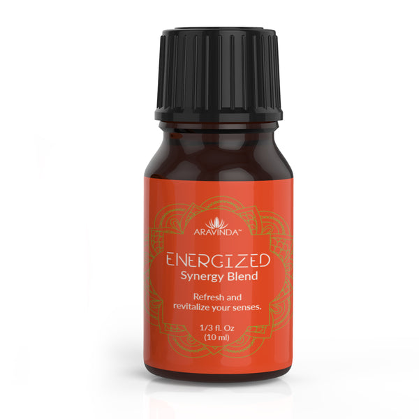 Essential Oil Blend-Energized