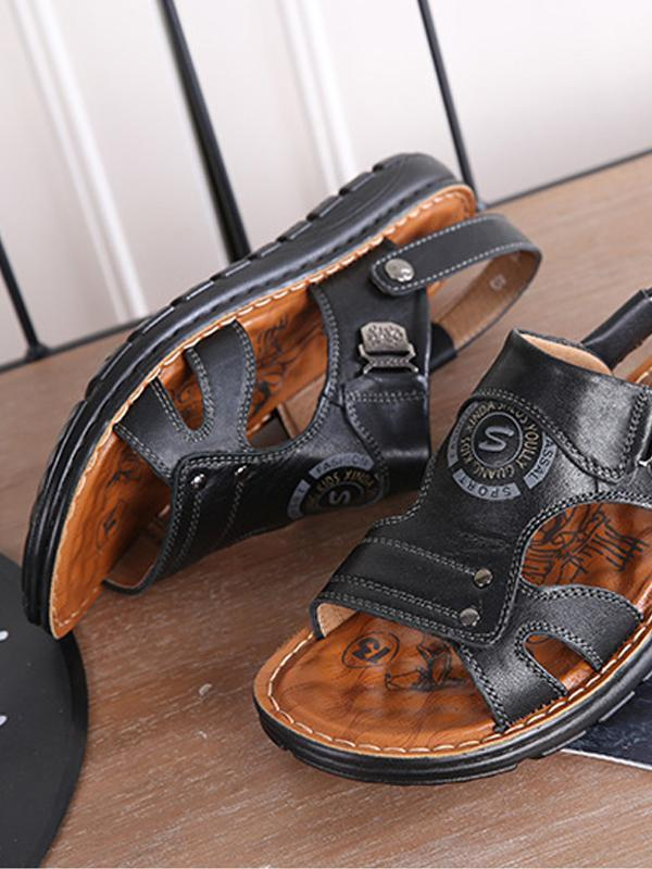 Summer Mens Casual Platform Sandals