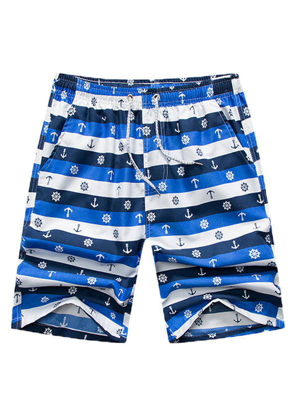 Men Casual Summer Beach Swimming Trunks