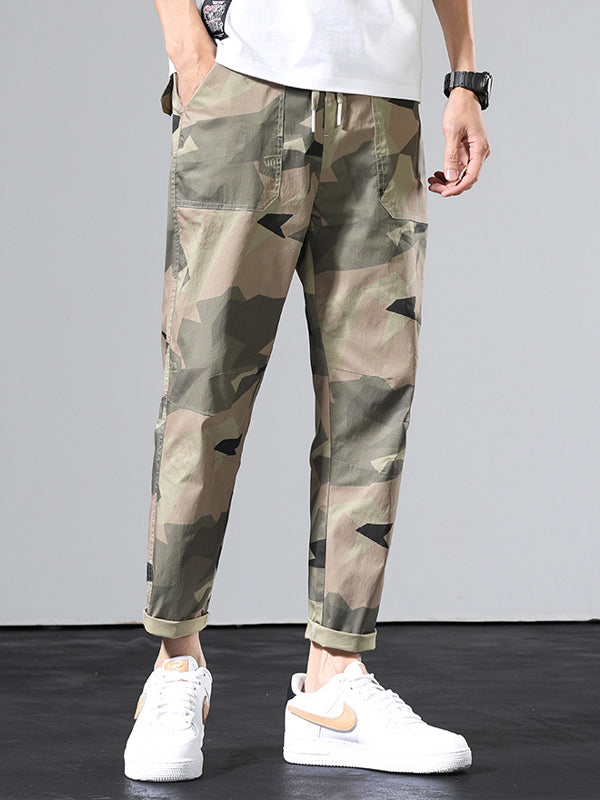 Men Camouflage Casual  Pant