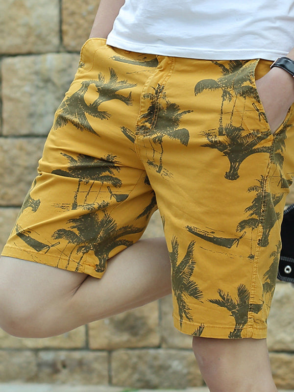 Men's Casual Sports Camouflage Beach Pants Shorts