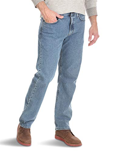 Men Relaxed Fit Comfort Flex Waist Jean