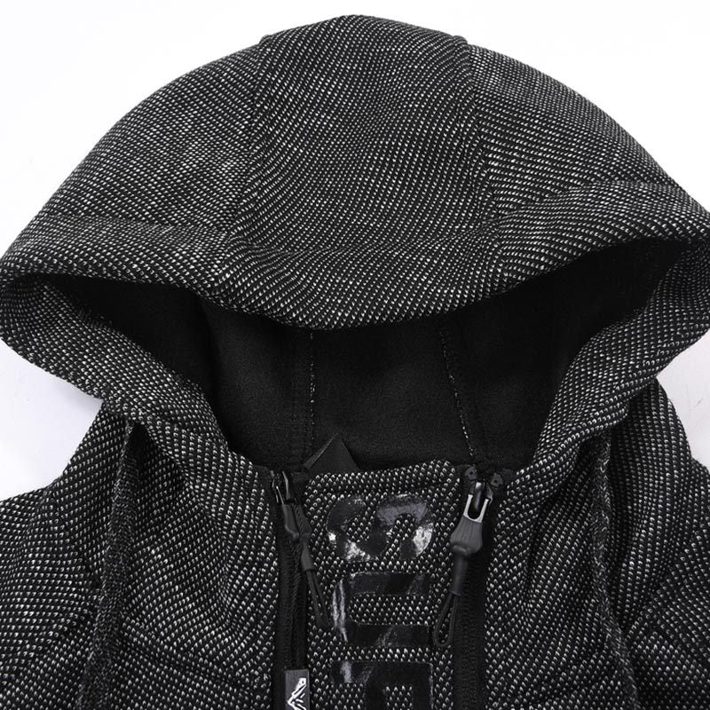 Men Sports Hooded Casual Jacket