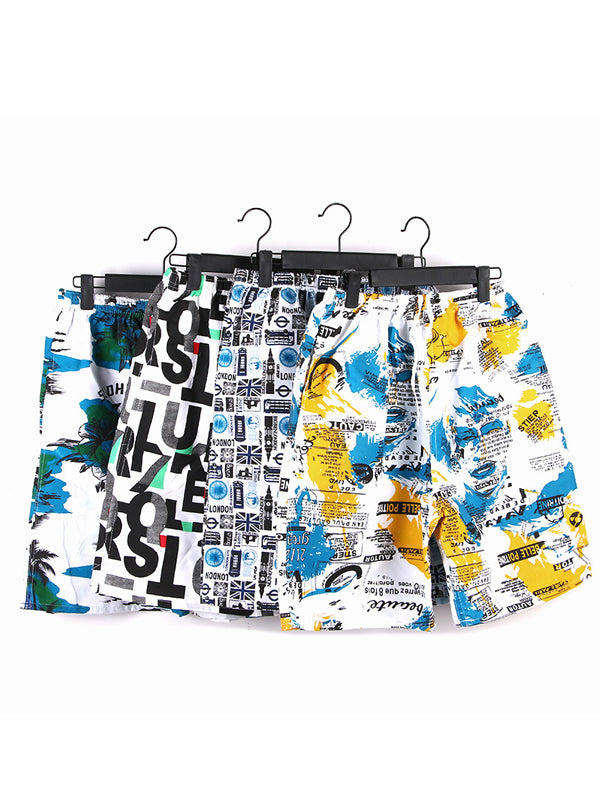 Random Color Fashion Summer Beach Swim Trunks