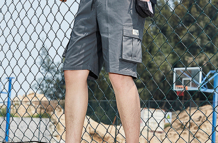 Men Camouflage Casual Overalls Casual Pants Shorts