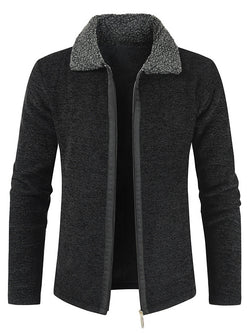 Men Thick Lapel Casual Split-Joint Coat