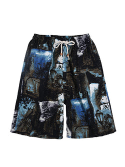 Men Ethnic Style Summer Fashion Shorts Beach Swim Trunks