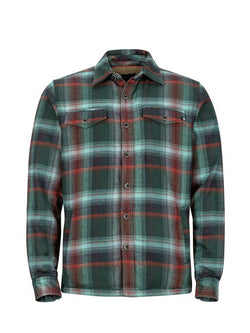 Men Plaid Print Casual Shirt