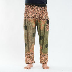 Men Plus Geometric Loose Harem Pants