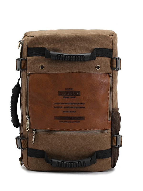 Fashion Casual Canvas Hiking Bag Backpack